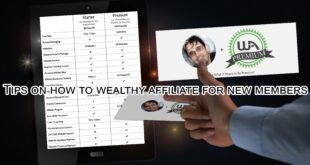 Tips on how to wealthy affiliate for new members