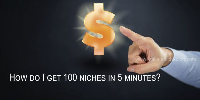 Find niche products in 5 minutes