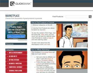 Marketplace - ClickBank