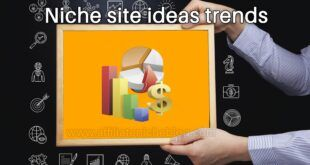 Niche site ideas trends