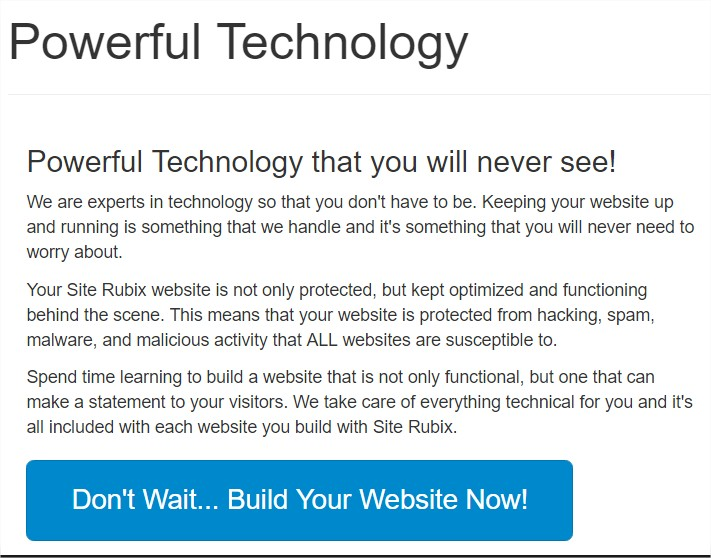 Powerful Technology that you will never see!