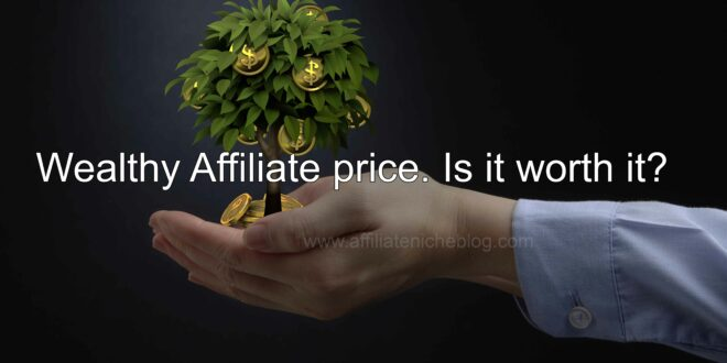 Wealthy Affiliate price. Is it worth it?