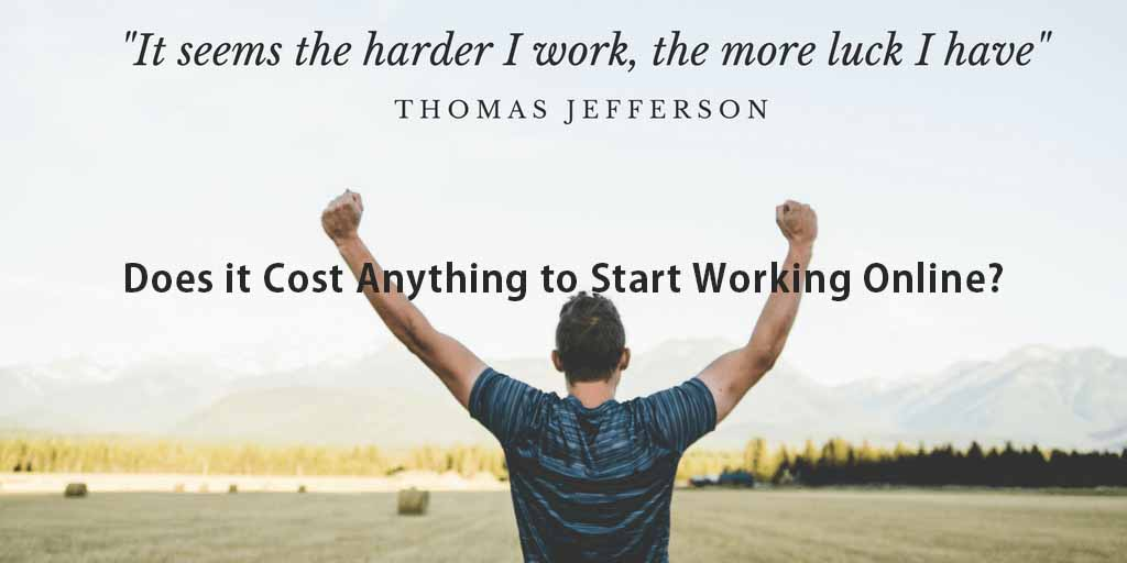Affiliate marketing requires commitment and hard work.