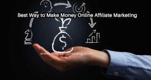 Best Way to Make Money Online Affiliate Marketing