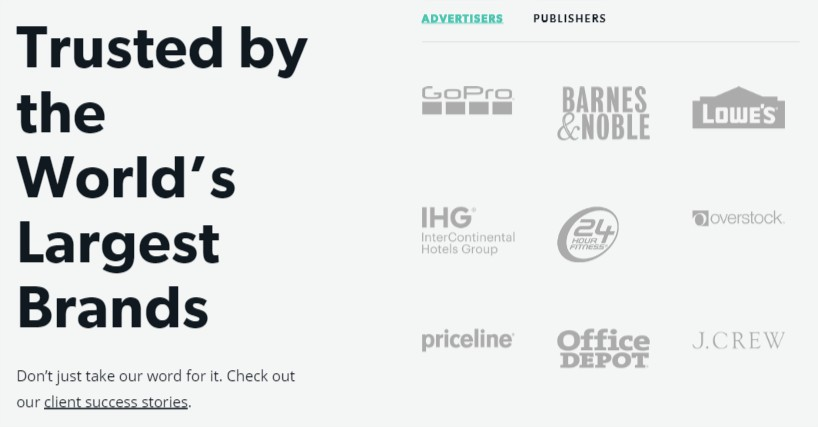 Trusted by the World's Largest Brands