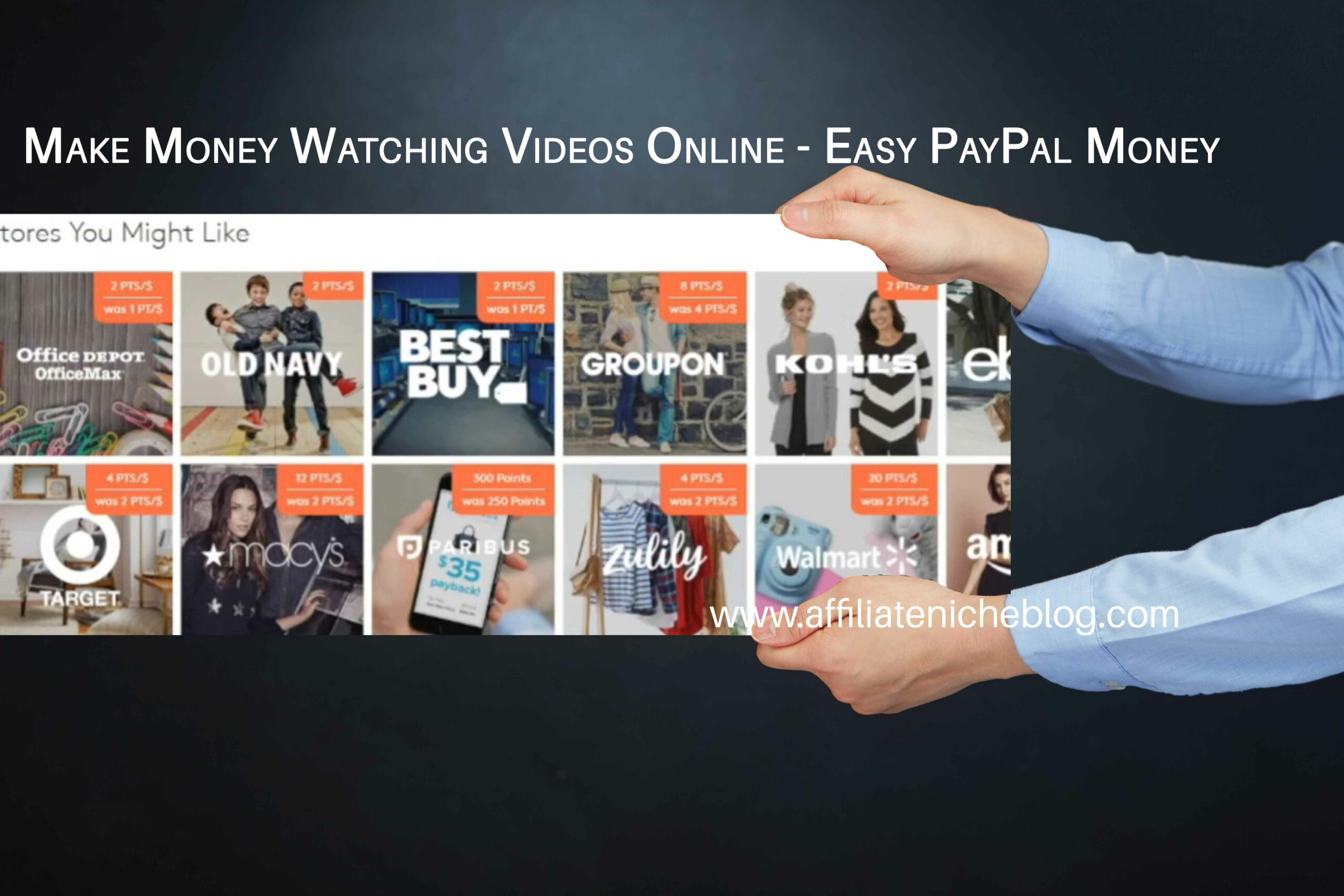Make Money Watching Videos Online - Easy PayPal Money
