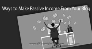 Ways to Make Passive Income From Your Blog