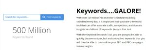 have unlimited keyword searches