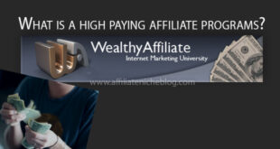 What is a high paying affiliate programs? Here they are
