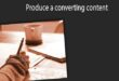 Trigger your affiliate marketing creative thinking : Produce a converting content